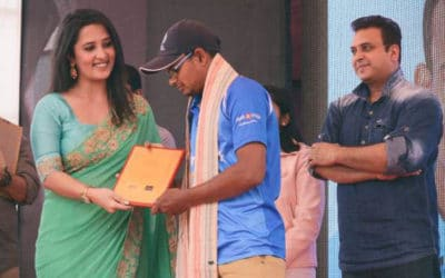 Felicitating the Stars of the Nation
