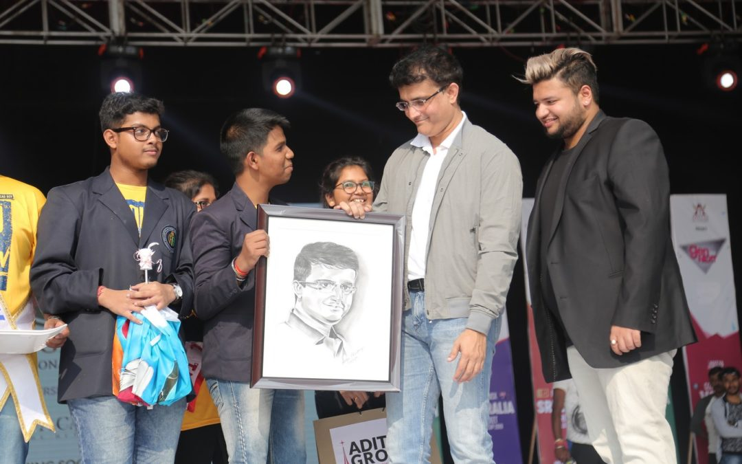 Sourav Ganguly at GenNext 2018